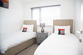 twin room self catering