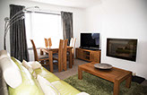 Living room accommodation on Skye self catering